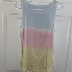 AE Soft & Sexy - Faded Tie Dye Muscle Tank